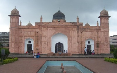 The mausoleum of Bibi Pari, Lalbagh Fort, Dhaka, Bangladesh